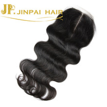 JP Factory Outlet Middle Part Lace Closure Piece With Baby Hair