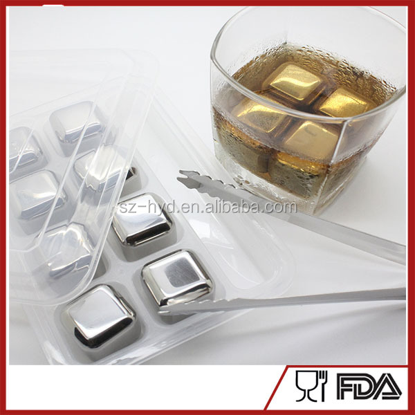 Set Of 9 Ice Cube Wine Cooler With Storage Box