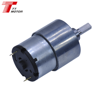 GM37-520TB 37mm gear motor dc 12 v 20 rpm