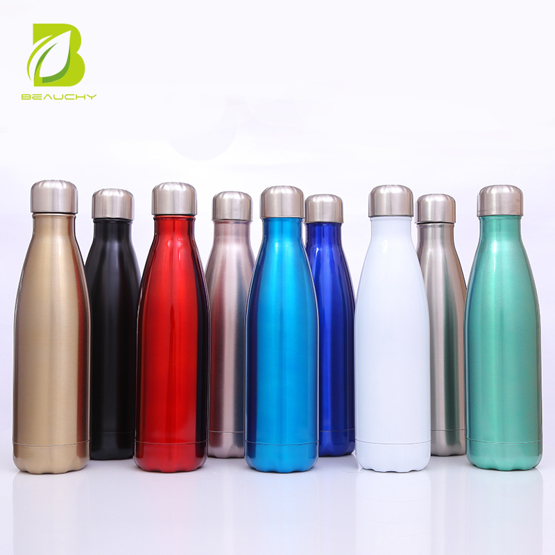 Beauchy new product stainless steel insulated bottle/ water bottle custom logo