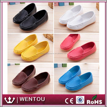 Wholesale Children Casual Soft Leather Toddler Flat Loafers