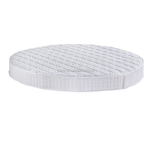 Round Ultra - flexible Fabric Folding Memory Foam Mattress