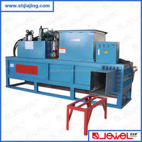 CE approved hydraulic press silage baler machine