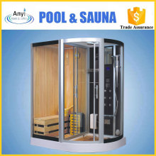high-quality dry & wet steam shower with computer control for sales