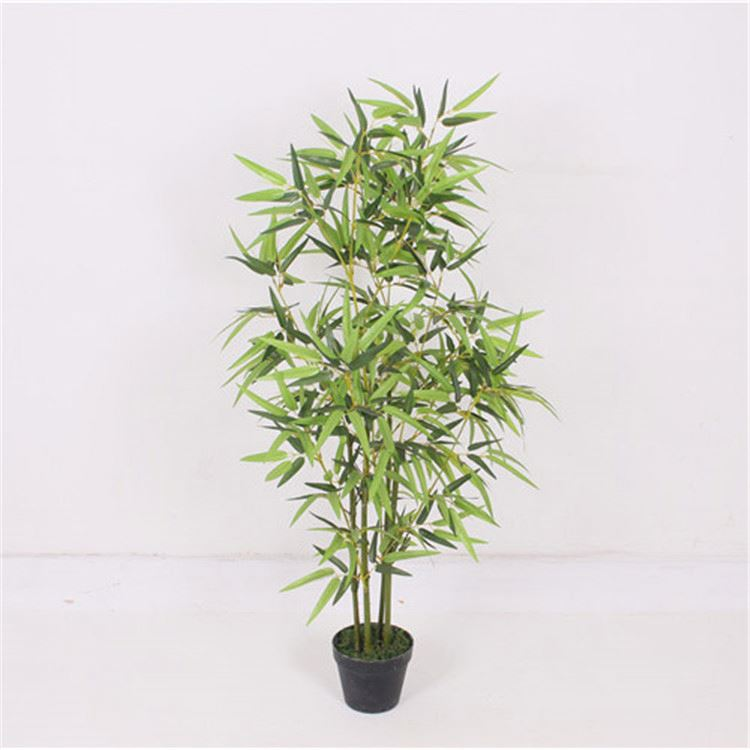High performance good quality meeting place use artificial bamboo tree flower and artificial bamboo tree