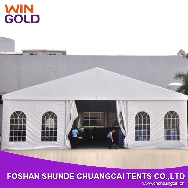 2015 new design used clear span tent for outdoor wedding
