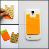 3M sticker mobile phone silicone id /3m silicone wallets