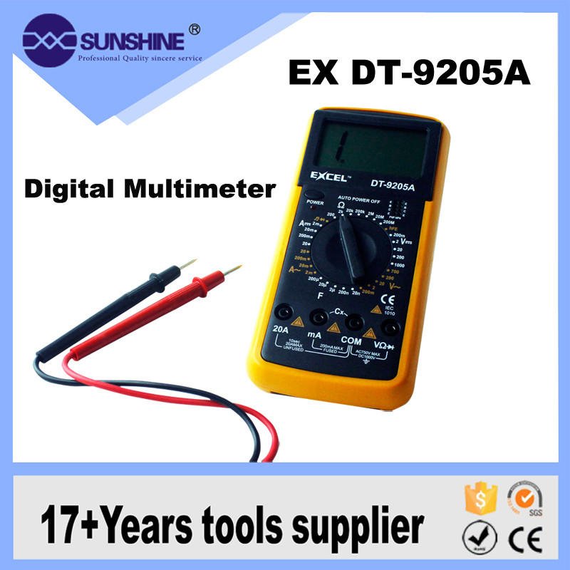 Hot Sale Excel Dt-9205a Pocket-type Digital Multimeter With Best Price