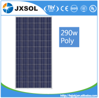 Photovoltaic poly solar cell panel solar module 290w 72 cells