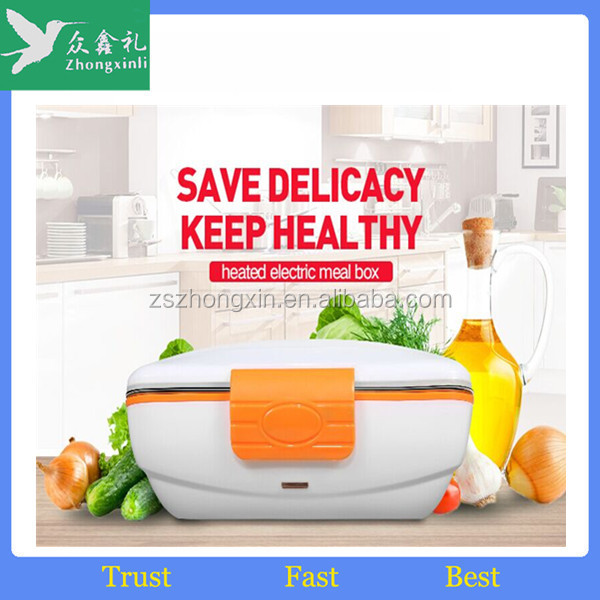 2017 new Stainless Steel Plastic Insulated Food Container Thermos Lunch Box