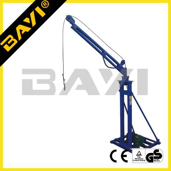 cargo machines crane, small lifting crane, portable lift crane