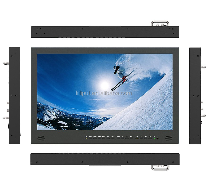"23.8"" 4K monitor with HDMI and SDI connectivity Hot selling Broadcast Director Monitor"