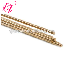 Low fuming copper alloy brass brazing 4mm welding rod/electrode