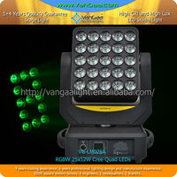 25heads rgbw Audience Pixel LED Matrix Blinder led matrix moving head light