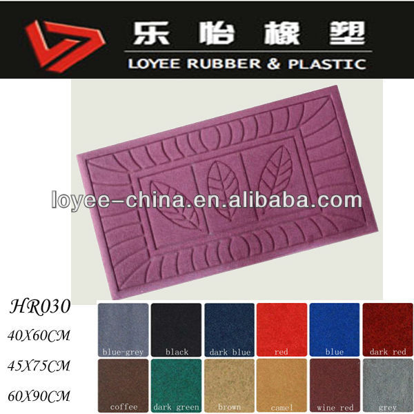 100% Polyester Fibers Surface Carpet Door Mats