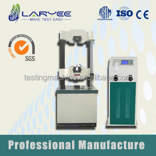 Quality Welded Steel Pipe Hydraulic Tension Testing Machine