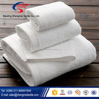 Plain white cotton flour sack tea towel dish towel wholesale