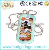 2014 new quality metal dog tag crafts for kids