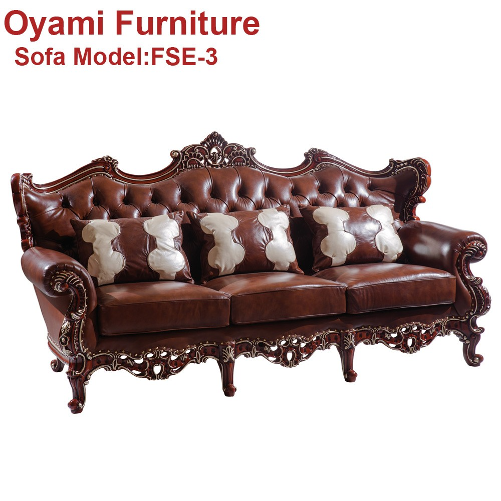 English Country Style Luxury moden fabric sofa