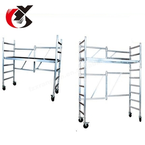 the lazy mobile aluminium kwikstage window square construction scaffold for sale