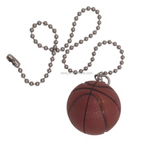 Pull Chain Extender with Basketball Perfect for Ceiling Fan and Lamp Pulls