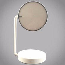 Smart mirror double sided led light ABS touch screen folding makeup vanity mirror with light for cosmetics store