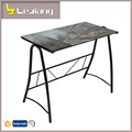 wholesale modern latest design simple glass computer table