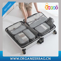 Encai New Design Compression Luggage Organizer Bags 7 in 1 Travel Clothes Packing Cubes