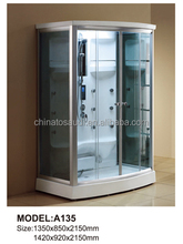 acrylic 2 person steam shower room / TV/MP3 bath shower