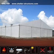 20x50m Clear Span Aluminum Structures White PVC Fabric Big Asian Removable Warehouse Hall Industrial Tents for Storage