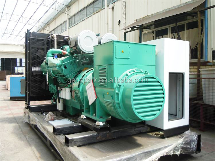 Industrial Power generator 1000kva with Cummins engine KTA38-G5