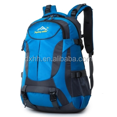 Multi-functional sports trekking backpack waterproof durable waterproof nylon 65L pro sports backpack
