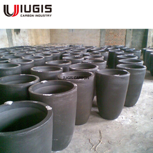 international standard iso approved metal casting iron graphite crucible