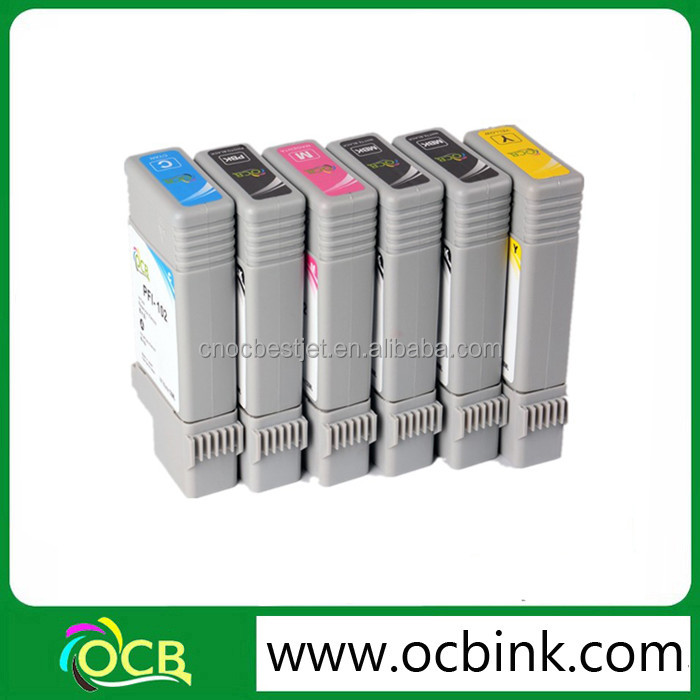 PFi 102 Ink Cartridge For Canon iPF 650 655 750 755 760 765 Compatible Ink Cartridges