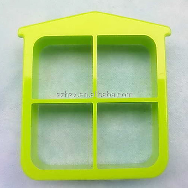 skilful maufacture room shaped plastic cookie crust cutter