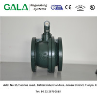 OEM good quality factroy price cast iron body of ball valve for gas