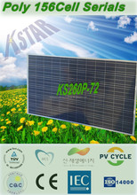 A grade PV panels from YIWU mono 260w-300w solar panel price/High quality,Cheapest price 260W(KS260P-72) in Jinhua manufacturer
