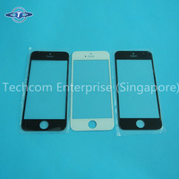 China factory price mobile phone cover glass for iphone 5/5S replacement parts