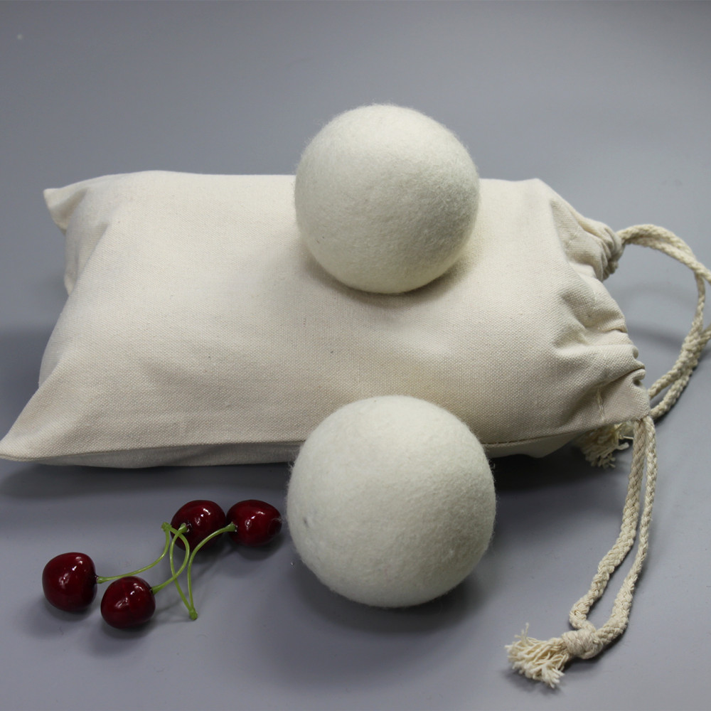 Different Packing of wool dryer ball