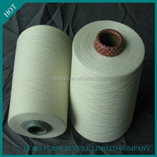 High Strength Fabric Weaving Easy Dyeing Color Low Price Blended Polyester And Combed Cotton Yarn