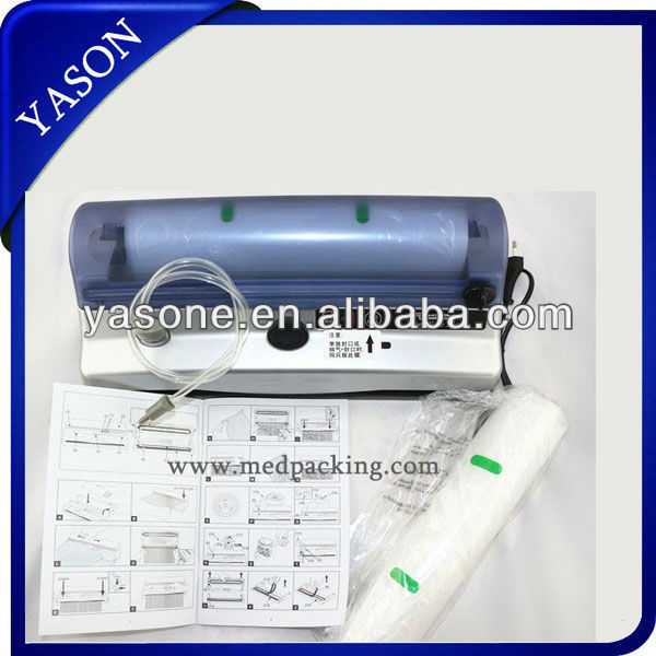 Home-used Vacuum Sealing Machine, Small Food Vacuum Sealer YS-C083007