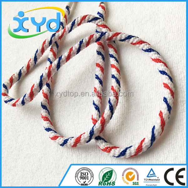 Solid Braided Rope Braided Wax Cotton Cord for Bags