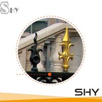 Shenghongyuan wrought iron metal Fence finial