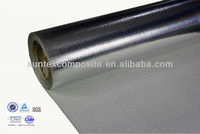 heat insulation aluminum foil laminated 18oz 1.5mm fiberglass welding cloth