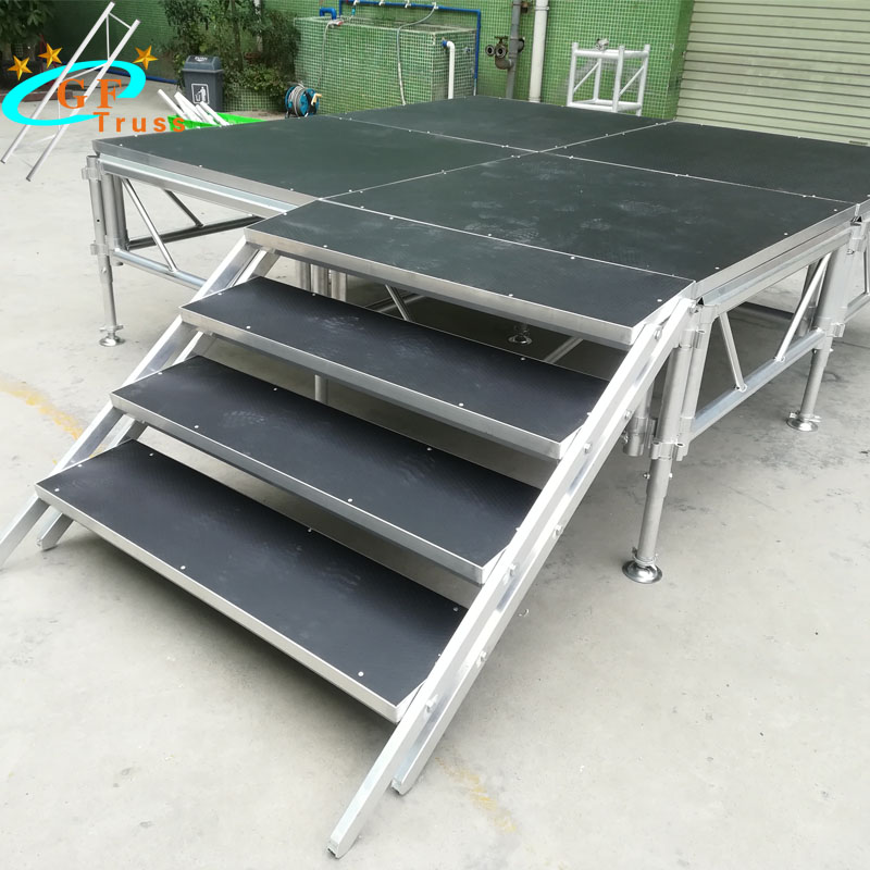 4ft by 4ft Aluminum Portable <strong>Stage</strong> Platform Event <strong>Stage</strong>