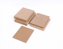 High Quality Laminated MDF Fibre Board for Furniture