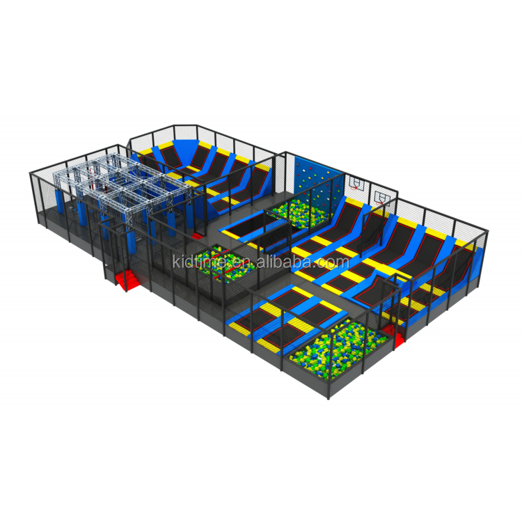 Big Pictures Bounce Inc Park Supplier Buy Kids Jumping Bed From Trampoline In China