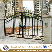 Factory wrought iron fence wholesale,cheap garden fencing,fencing and gates