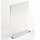 wholesale high quality clear supermarket price tag acrylic sign display