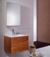 70cm Classic Wooden Lacquer Bath Cabinet, Bath Furniture, Bath Vanity
